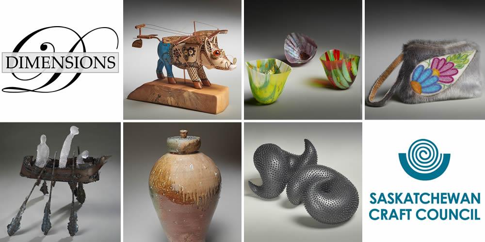 Artwork from Dimensions - Saskatchewan Craft Council