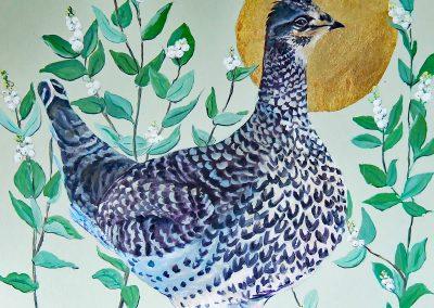 Marsha Schuld - Sharp Tailed Grouse