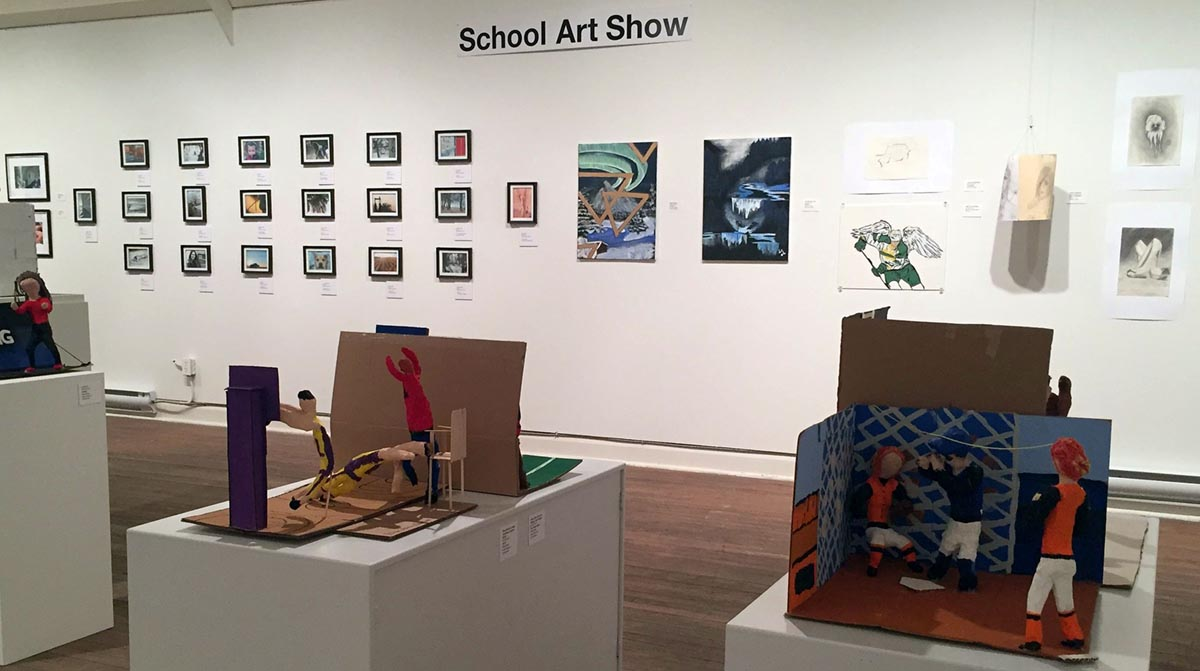School Art Show at the West Wing Gallery