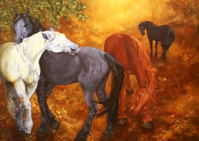 Artwork from the Horse & Cattle Show