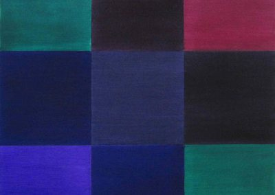 Artwork by Jeffrey Spalding: Untitled (Admiral post office colors)