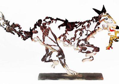 Sculpture by Joe Fafard