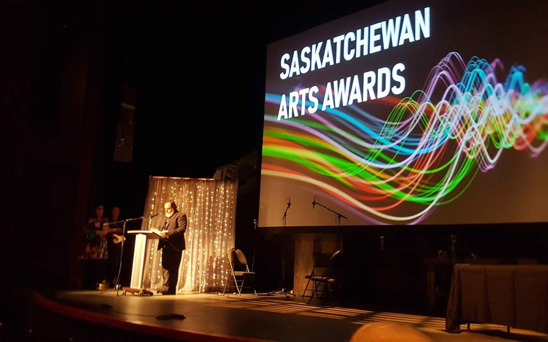 AGSC Director and Curator receives Provincial Arts Award